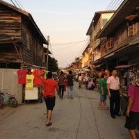 Снимок сделан в Chiang Khan Walking Street пользователем KumaZaa Meaw 3/24/2012