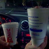 Photo taken at SONIC Drive In by Kelli B. on 9/25/2011