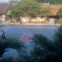 Photo taken at SMP Negeri 39 Surabaya by Tiara P. on 7/26/2012
