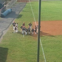 Photo taken at Liberty Christian Baseball Field by Marc P. on 5/4/2012