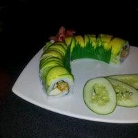 Photo taken at Ikebana Sushi Bar - Carolina by Val_ . on 8/29/2012