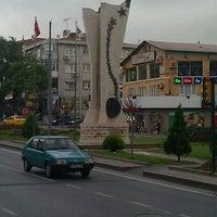 Photo taken at UEFA Meydanı by Turan Ü. on 10/25/2011