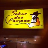 Photo taken at Sabor dos Pampas by Leonardo S. on 5/19/2012