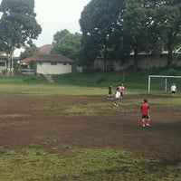 Photo taken at Lapangan Sepak Bola KPAD by Mochamad Sopian A. on 3/31/2012
