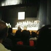 Photo taken at Teatro Madre Esperança Garrido by Clesio R. on 8/21/2012