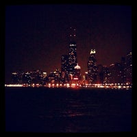 Photo taken at North Avenue Beach by Dane T. on 6/28/2012