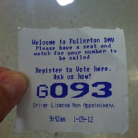 Photo taken at Department Of Motor Vehicles by Lonnie S. on 1/9/2012