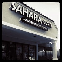 Photo taken at Sahara's Cafe & Bar by Kimberly L. on 9/13/2011