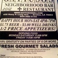 Photo taken at Gattuso's Neighborhood Restaurant & Bar by Valerie B. on 1/10/2012