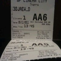 Photo taken at SF Cinema City by Teerayut S. on 11/5/2011