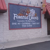 Photo taken at Famous Dave's by Shelby M. on 6/16/2011