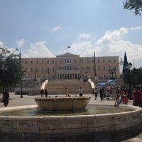 Photo taken at Syntagma Square by Manuel K. on 7/27/2012