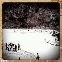 Photo taken at Kawah Putih by Jack B. on 12/11/2011