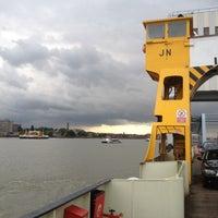Photo taken at Woolwich Ferry by Darren F. on 7/10/2012
