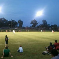 Photo taken at Morgan Brothers Soccer Field by Skyler S. on 8/31/2011
