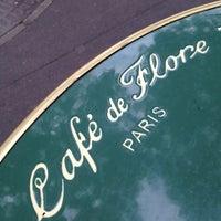 Photo taken at Café de Flore by nao_koj on 7/5/2012