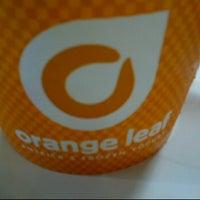 Photo taken at orange leaf americas frozen yogurt by Gus R. on 6/10/2012