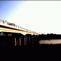 Photo taken at 千歳橋 by GATTACA on 10/16/2011