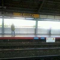 Photo taken at LRT 1 (Quirino Station) by Jr L. on 5/8/2012