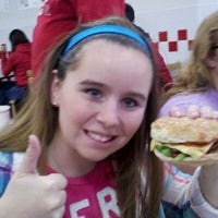 Photo taken at Five Guys by Mayme J. on 11/5/2011