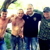 Photo taken at Река Кубань (г.Кропоткин) by Igor S. on 11/19/2011