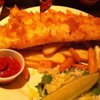 Photo taken at Big Ben British Pub & Restaurant by S Kehinde on 1/28/2012