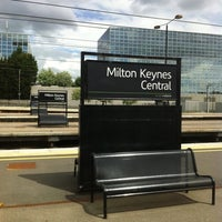 Photo taken at Milton Keynes Central Railway Station (MKC) by Peter G. on 5/8/2011