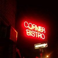 Photo taken at Corner Bistro by Mark K. on 11/8/2011