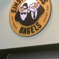 Photo taken at Einstein Bros Bagels by Tim R. on 10/8/2011