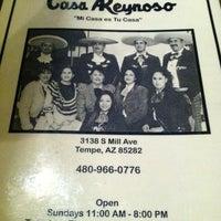 Photo taken at Casa Reynoso by Brian B. on 10/28/2011