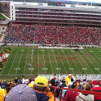 Photo taken at Capital One Field at Maryland Stadium by M V. on 9/29/2011