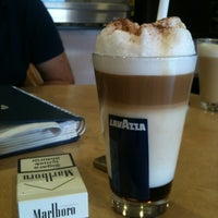 Photo taken at Lavazza by Metin Ö. on 4/18/2012