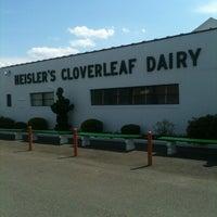 Photo taken at Heisler's Cloverleaf Dairy Bar by Kim S. on 7/8/2012