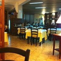 Photo taken at Trattoria Pizzeria Toscana by Yiedz R. on 10/16/2011