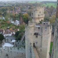 Photo taken at Warwick Castle by Hande G. on 10/3/2011