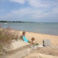 Photo taken at Elmwood Beach by Dawn N. on 7/21/2012