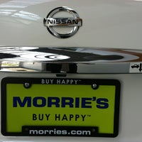 Photo taken at Morrie's Brooklyn Park Nissan by Benjamin F. on 6/28/2012