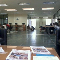 Photo taken at Biblioteca U. Católica del Maule by Maximiliano T. on 11/14/2011