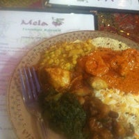 Photo taken at Mela Tandoori Kitchen by Melissa D. on 8/20/2012