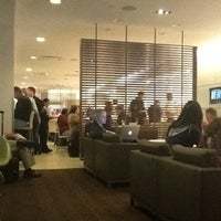 Photo taken at Oneworld Business Lounge by Jerry T. on 3/10/2012