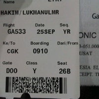 Photo taken at Garuda Indonesia Sales & Ticketing Office by Lukman H. on 9/25/2011
