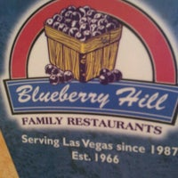 Photo taken at Blueberry Hill Family Restaurant by Michelle E. on 6/9/2012