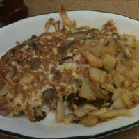 Photo taken at Galaxy Diner by Dylan G. on 3/24/2012