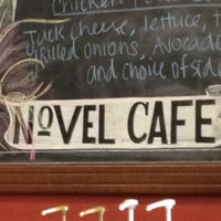 Photo taken at The Novel Cafe by Caitlin S. on 8/22/2012