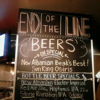 Photo taken at End Of The Line Public House by Alicia A. on 12/28/2011