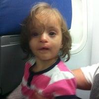 Photo taken at AirTran Flight 949 by Lisa G. on 11/19/2011
