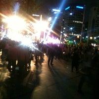 Photo taken at Bosingak by Sangwon C. on 5/19/2012