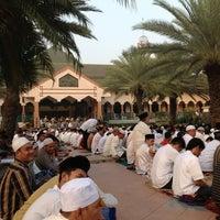 Photo taken at Masjid Al-Istiqna by Advan R. on 8/18/2012