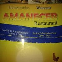 Photo taken at Amanecer Restaurant by Jhonatan P. on 12/4/2011