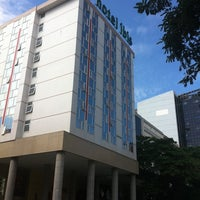 Photo taken at ibis Hotel by Wanderley O. on 5/21/2011